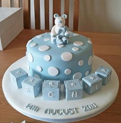 Great Cute Baby Shower Cake Idea!