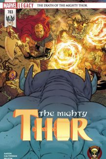 Mighty Thor (2015) #1 Spiderman Comic Books, Thor, Marvel, Comics, Cover, Movie Posters, Film Poster, Cartoons, Comic