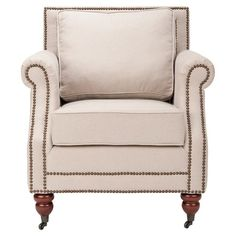 I pinned this Lenox Club Chair from the Safavieh event at Joss & Main!