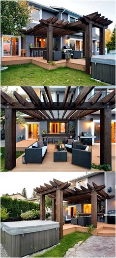 Elegant Pergola Design For Patios!