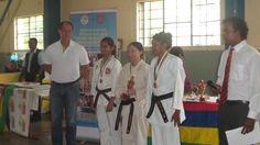 Mauritius invitational karate championships 2015. Sensei Sandra Ingham came 1st in kumite, 2nd in team kumite and 3rd in kata! :)