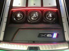 BMW X6 under floor set up