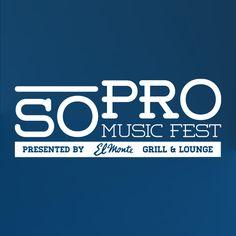 SoPro Music Festival by Drake Fontana, via Behance