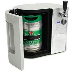 Beer Keg Dispenser for Salon