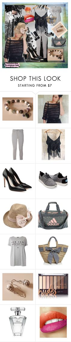 """""""Do watever feels beautiful to you"""" by marinaetsy on Polyvore featuring Polaroid, Scotch & Soda, Alexander McQueen, TOMS, adidas, Dorothy Perkins, Filippo Catarzi, Post-It, Avon and Christian Dior"""