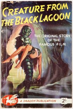 mudwerks:  (via Vargo Statten. Creature from the Black Lagoon. DragonPublications, | Lot #90153 | Heritage Auctions)