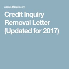Section 609 credit dispute letter sample credit repair secrets credit inquiry removal letter updated for 2017 spiritdancerdesigns Choice Image