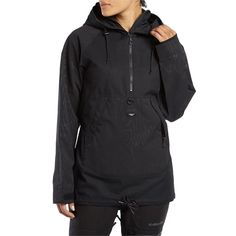 This waterproof and breathable shell features a soft taffeta lining for added warmth without bulk, plus pit vents and an external music pocket. Exclusive to evo, this Armada Saint Pullover brings the swagger of the streets to the bliss of the mountains.