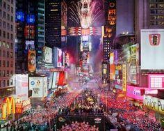 世界最大都市、ニューヨークで新年カウントダウン (ニューヨーク)