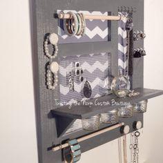Jewelry organizer handmade custom for you room by TwistingTheNorm