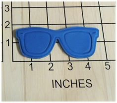 Nerd Beach Sun Glasses Shaped Cookie Cutter and Stamp #1263. Nerd sunglasses Shaped Cookie Cutter and Stamp. This 3d printed plastic cutter makes the shape of glasses. Wonderful for any kind of party, or beach party. In this offer includes a stamp, the stamp will be made as a separate piece to accommodate any thickness of dough. Actual measurements can be seen in photo. Color of plastic will vary according to availability and may be different than shown. Please Note: Play Dough Sample…