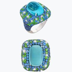Delicious Aquamarine from the Marbella Collection. @neimanmarcus #preciousjewel #luxuryjewelry #aquamarinejewellery @emporiumbne