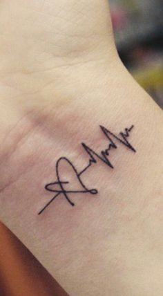 Tattoo ideas wrist heartbeat Ideas Tattoo Ideen Handgelenk Herzschlag Ideen The post Tattoo Ideen Handgelenk Herzschlag Ideen & Tattoo appeared first on Tattoo ideas . Simple Wrist Tattoos, Wrist Tattoos For Guys, Tattoos For Women, Tattoo Designs Wrist, Small Tattoo Designs, Finger Tattoos, Mini Tattoos, New Tattoos, Tatoos