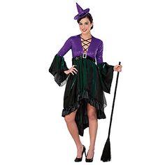 Bruja arrogante disfraz de Halloween con lentejuelas - LightInTheBox  5,50 € Dto. para Compra Superior a 48 € de Halloween Disfraces  Código de cupón: COSHLW  Validez: 1/10/2012-31/10/2012