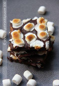 Chocolate Caramel Candy Bark (CCC)
