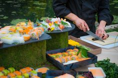 Detalle de Barra de Sushi