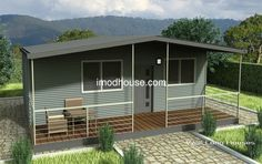 high quality nice design cheap and comfortable steel structure living prefab house/home Steel Frame House, Bungalow Homes, Steel Structure, Prefab Homes, Go Green, Cool Designs, Shed, Exterior, Outdoor Structures