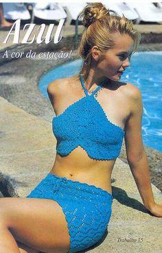 Crochet gold: Costume for the beach! Free Crochet Pattern