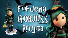 Fofucha Gorjuss Brujita - Goma Eva - Foamy