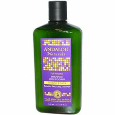 Andalou Naturals Full Volume Shampoo Lavender and Biotin - 11.5 fl oz by Andalou Naturals. $11.73. Andalou Naturals Full Volume Shampoo Lavender and Biotin Description: Benefits Fine Limp Thin Hair Fruit Stem Cell Science Regenerating Fruit Stem Cells Renew • Repair • Regenerate 71% Certified Organic Ingredients Andalou Naturals Advanced Fruit Stem Cell Science improves hair follicle longevity and vitality for healthy hair from root to tip. Lavender gently refreshes stimu...