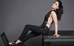 Télécharger fonds d'écran Kareena Kapoor, Vogue, beauté, 2017, indien actrees, brune, Bollywood
