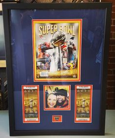 Another thoughtful and unique Father's Day gift that will last a lifetime! Bring your memorabilia to the experts in sports framing in Denver, FastFrame of LoDo! #denver #colorado #pictureframing #customframing #sportsframing #jerseyframing #denverbroncos #sb50 #peytonmanning