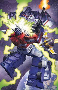 Transformers UK #1 Recreation by ZeroMayhem.deviantart.com on @DeviantArt