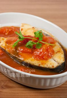 Mackerel In Tomato Sauce - Christine's Recipes: Easy Chinese Recipes | Easy Recipes