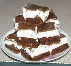 Cookie Desserts, No Bake Desserts, Healthy Desserts, Cookie Recipes, Dessert Recipes, Different Cakes, Salty Snacks, Cake Bars, Hungarian Recipes