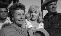 The Misfits. Thelma Ritter holds her own with Marilyn Monroe, Clark Gable, Montgomery Clift and Eli Wallach.