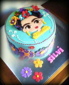 f12e54bfef77b5903ccb738152f2f8f1--frida-kahlo-birthday-cake-frida-khalo-cake.jpg (736×912)