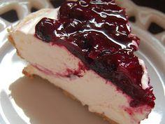 Cassie Craves: Blueberry Cream Cheese Pie