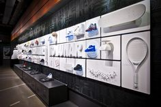 30 objects of AF1 story in retail display by Jay Chi, via Behance