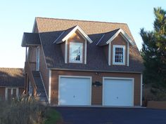 1000 images about garages on pinterest 3 car garage for Three car garage with loft apartment