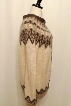 Vintage Fair Isle Cardigan / Nordic Wool Sweater / by BibbysRocket