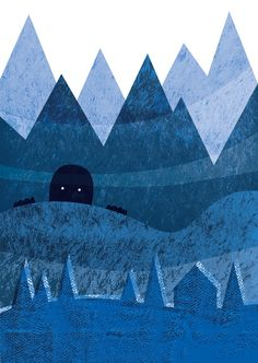 Illustrations by Jankiewicz Studio - Polish folk tales #giant #mountains