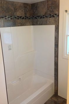Ideas To Update A Corner Shower Or Fibreglass Tub Surround In A Bathroom  Using Tile And Decor
