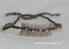 Newborn HEADBAND HALO Tieback Headband Photo Prop