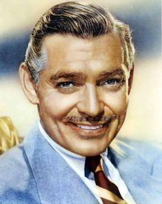 Clark Gable Hollywood Actor, Golden Age Of Hollywood, Vintage Hollywood, Hollywood Stars, Classic Hollywood, Classic Actresses, Actors & Actresses, John Clark, Old Movie Stars