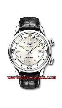 IW323105 -  Limited edition of 500 watches in platinum, Mechanical movement, Pellaton automatic winding, 44-hour power reserve when fully wound, Date display, Screw-in main crown, Mechanical rotating inner bezel , Convex sapphire glass, See-through sapphire glass back, in platinum with black crocodile leather strap. - See more at: http://www.worldofluxuryus.com/watches/IWC/Discontinued-Models/323.105/185_789_1026.php#sthash.ht3YnEfX.dpuf