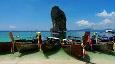 Thailand Beaches: Koh Poda Beach in Krabi Province