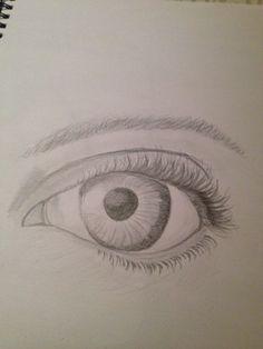 The eye I draw yesterday -daisierose123