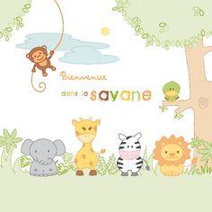 Faire part  La Savane G2-A