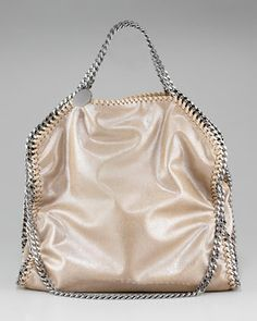 Falabella Fold-Over Tote, Small by Stella McCartney at Neiman Marcus.