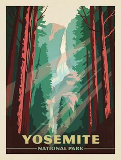 Anderson Design Group – American National Parks – Yosemite National Park