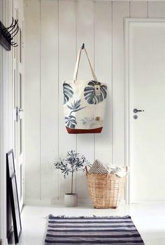 Tote Bag TROPIC 100% Organic Cotton by AnnetWeelinkDesign                                                                                                                                                                                 More