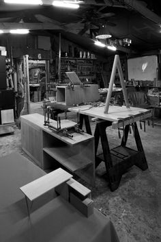 Workshop of BAHK JONG SUN, a Korean designer and woodworker born in Korea.