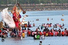The celebration started with Ganesh Chaturthi on August 25 and is ending on Tuesday with Anant Chaturdashi. (Express Photo By Pradip Das)