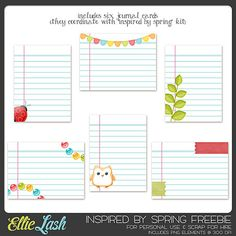 Free Inspired by Spring Printables  ....Follow for Free 'too-neat-not-to-keep 'literacy tools  fun teaching stuff :)