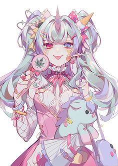 ✨ morning cute ✨ Just kidding 😂 Cool Anime Girl, Beautiful Anime Girl, Kawaii Anime Girl, Kawaii Art, Anime Art Girl, Anime Girls, Anime Angel, Anime Chibi, Chica Anime Manga